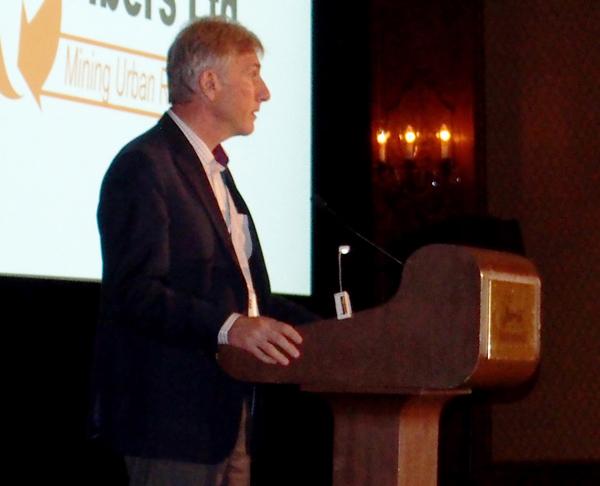 Canadian Stewardship Award-Cliff at Podium